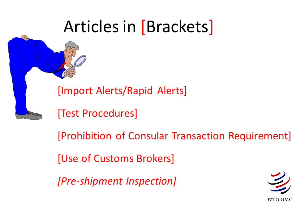 Articles in [Brackets]
